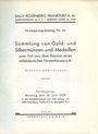Antiquarischen buchern Rosenberg Sally. Auktions Katalog n° 66 du 10.06.1929