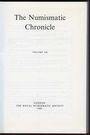 Antiquarischen buchern The Numismatic Chronicle. Volume 148. 1988