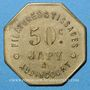 Coins Audincourt (25). Filatures et Tissages Japy. 50 centimes