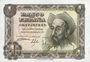 Banknoten Espagne, billet, 1 peseta 19.11.1951