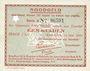 Banknoten Pays Bas. Commune (Gemeente) Enschede. Billet. 1 gulden 14.5.1940