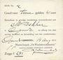 Banknoten Pays Bas. Gendt. Waalsteenindustrie. 2 gulden 41 cent. 14.8.1914