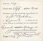 Banknoten Pays Bas. Gendt. Waalsteenindustrie. 5 gulden 12 cent. 29.8.1914