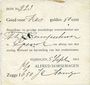 Banknoten Pays Bas. Nimègue (Nijmegen). Alfred Dorsemagen. 6 gulden 50 cent 5.9.1914