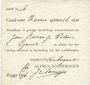 Banknoten Pays Bas. Nimègue (Nijmegen). Alfred Dorsemagen. 7 gulden 16 cent 14.8.1914