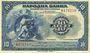 Banknoten Yougoslavie. Billet. 10 dinars 1.11.1920