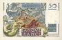 Banknoten Banque de France. Billet. 50 francs Le Verrier, 12.6.1947