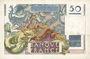 Banknoten Banque de France. Billet. 50 francs Le Verrier, 2.3.1950