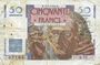 Banknoten Banque de France. Billet. 50 francs Le Verrier, 2.5.1946