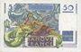 Banknoten Banque de France. Billet. 50 francs Le Verrier, 31.5.1946