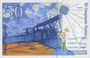 Banknoten Banque de France. Billet. 50 francs (Saint-Exupéry), 1994, modifié