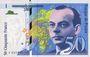 Banknoten Banque de France. Billet. 50 francs (Saint-Exupéry), 1997. Décalé vers la gauche