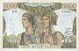 Banknoten Banque de France. Billet. 5000 francs Terre et Mer 1.2.1951