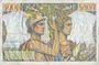 Banknoten Banque de France. Billet. 5000 francs, Terre et Mer, 2.5.1957