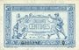 Banknoten Trésorerie aux Armées. Billet. 50 cmes, 1917, série Q