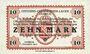 Banknoten Allemagne. Döbeln. Offizier- Gefangenenlager. Billet. 10 mark 1.12.1917