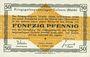Banknoten Allemagne. Golzern. Kriegsgefangenenlager. Billet. 50 pf 1.2.1916
