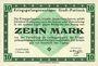 Banknoten Allemagne. Gross-Poritsch. Kriegsgefangenenlager. Billet. 10 mark 1.2.1916