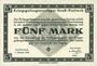 Banknoten Allemagne. Gross-Poritsch. Kriegsgefangenenlager. Billet. 5 mark 1.2.1916