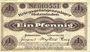 Banknoten Allemagne. Holzminden. Kriegsgefangenenlager. Billet. 1 pfennig décembre 1916