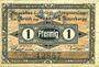 Banknoten Cottbus. Inspektion der KGL im Bereich des XIII. Armeekorps. Billet. 1 pf 1.10.1917