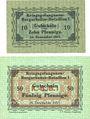 Banknoten Lieu d'émission inconnu. Kriegsgefangenen - Bergarbeiter-Bataillon I