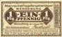 Banknoten Merseburg. Mannschaftsgefangenenlager. Billet. 1 pf 1.1.1916