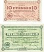 Banknoten Minden. Gefangenenlager. Billets. 10 pf, 50 pf 1.12.1917