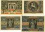 Banknoten Aschaffenburg. Stadt. Billets. 50 pf 1920 Réimp, 25 pf  n. d. Réimp, 25, 50 pf n.d.