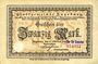 Banknoten Augsburg. Stadt. Billet. 20 mark 15.10.1918, avec cachet Nur für Sammler