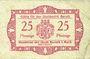 Banknoten Baruth. Stadt. Billet. 25 pfennig n.d.