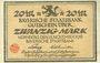 Banknoten Bayern. Bayerische Staatsbank. Nürnberg 1918. Billet. 20 mark 15.11.1918