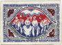 Banknoten Bielefeld. Stadt. Billet. 50 mark en soie 2.4.1922. Inédit !