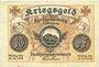 Banknoten Blankenburg Bad. Stadt. Billet. 10 pfennig 1917