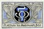 Banknoten Böel. Amstsbezirk. Billet. 50 pf (1920)