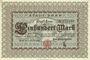 Banknoten Bonn. Stadt. Billet. 100 mark 1.10.1922