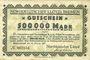 Banknoten Bremerhaven. Norddeutscher Lloyd Bremen. Billet. 500 000 mark 10.8.1923