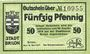 Banknoten Brillon. Stadt. Billet. 50 pf 18.5.1917