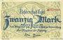 Banknoten Cassel. Stadt. Billet. 20 mark n. d. - 31.1.1919