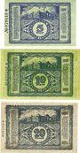 Banknoten Cheminitz. Amtshauptmannschaft. Billets. 5 mk, 10 mk, 20 mk 15.11.1918