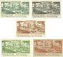 Banknoten Diez. Stadt. Billets. 10, 25, 50 pf  décembre 1920 ; 10 pf, 50 pf décembre 1920 (1921)
