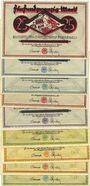 Banknoten Dortmund und Hörde. Stadt und Landkreise. Billets. 25 pf (5ex), 50 pf (4ex) 10.10.1922