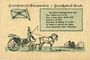 Banknoten Einswarden. Frerichswerft. Billet. 50 pf janvier 1921. R/: Dien Pär...