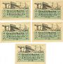 Banknoten Einswarden. Frerichswerft. Série de 5 billets. 50 pf janvier 1921