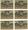 Banknoten Eisenach. Stadt. Série de 6 billets. 50 pfennig 1921