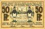 Banknoten Freiberg. Amtshauptmannschaft. Billet. 1/2 mark n.d. - 31.12.1919, Série (Reihe) H
