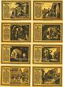 Banknoten Freiberg. Stadt. Série de 8 billets. 75 pf  1921