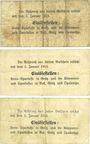 Banknoten Grätz (Grodzisk Wielkopolski, Pologne). Kreisausschuss. Billets. 50 pf, 1mk, 2 mark n.d. - 1.1.1915