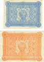Banknoten Hanau. Stadt. Billets. 10 pf, 50 pf 1.6.1917