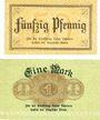 Banknoten Allemagne, Lippe, Fürstlich Lippische Regierung, Detmold, billets, 50 pfennig, 1 marr 13.11.1918